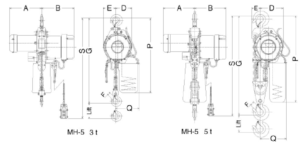 nitchi electric chain hoist wiring diagram list of schematic Electric Pallet Jack Diagram