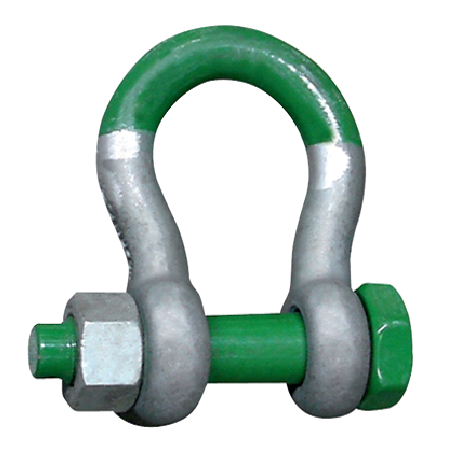 Green Pin Grade T Super Shackles