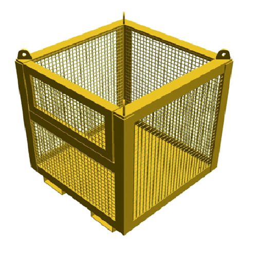 Drop Side Goods Cages